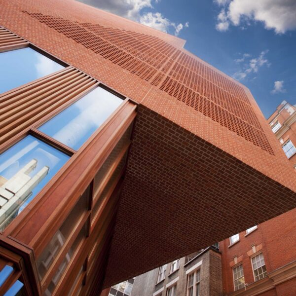 LSE's new student union is an architectural red brick wonder