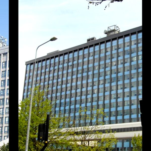 Sotech manufacture bespoke secret fix rainscreen for Hull Royal Infirmary overcladding project