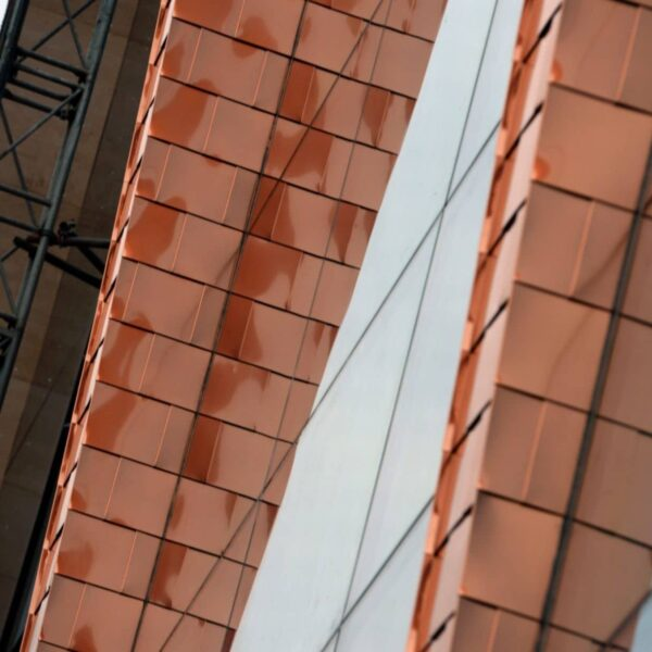 Optima Shingles manufactured by Sotech to form part of the Barclaycard Arena transformation