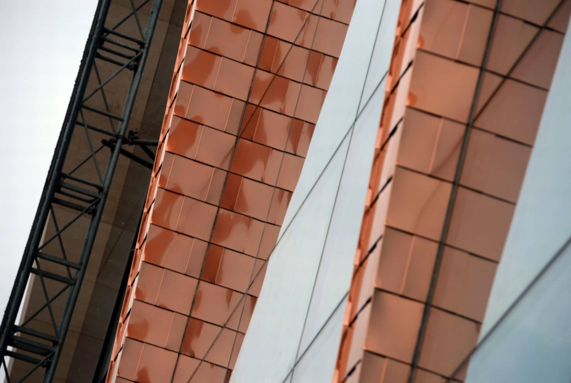 Section of building of Barclaycard Transformation
