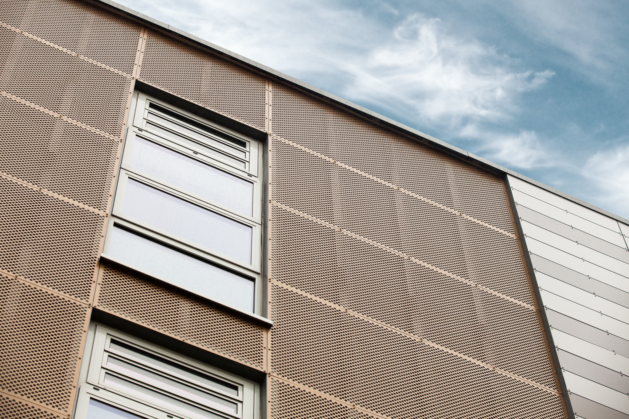 Business Central Perforated Rainscreen