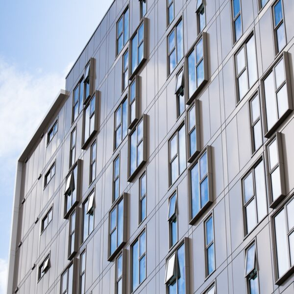 Sotech use unique champagne finish for residential development, Nottingham Odeon