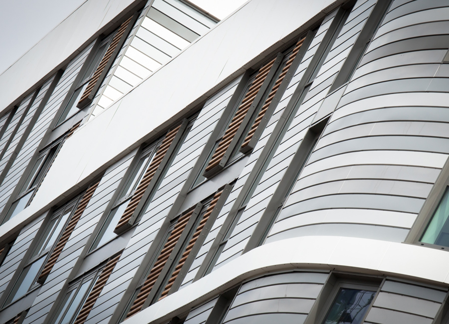 GWQ Optima IPC Rainscreen Cladding with PPC Finish