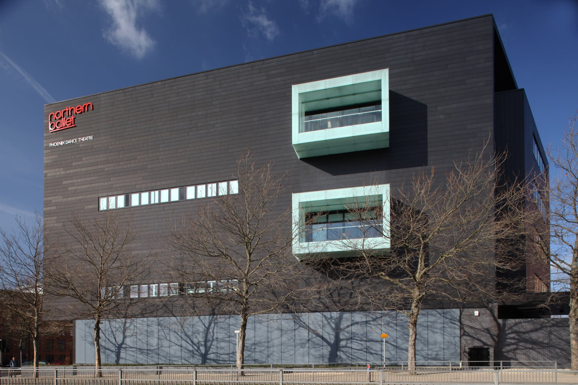 Zinc Rainscreen Cladding - Northern Ballet