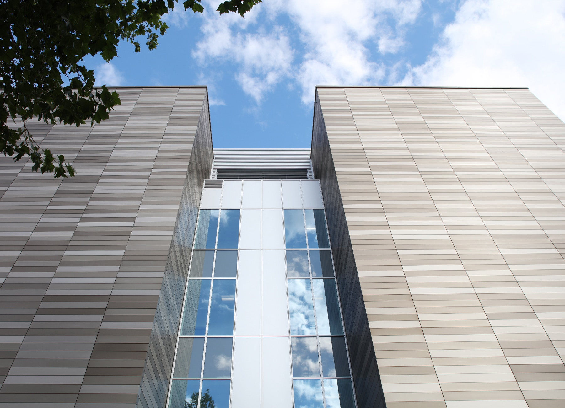 APEX XPC Rainscreen Cladding - Anodised Finish