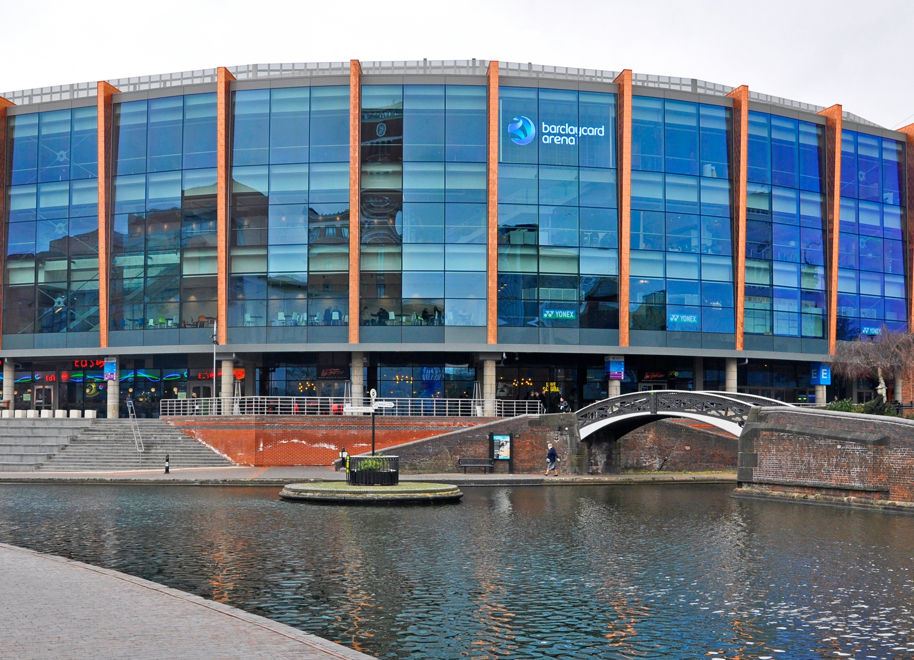 NIA Barclaycard Arena - Copper Shingles - culture and leisure