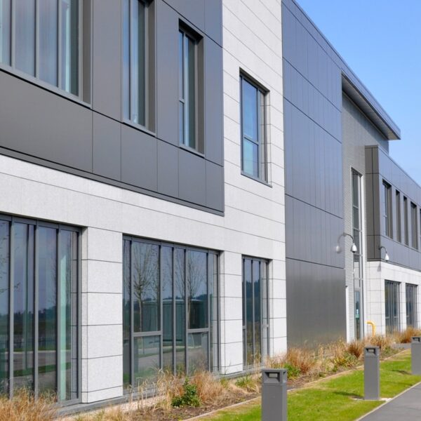 Sotech produce over 2000 Square Meters of Rainscreen Cladding for  OneSubsea building in Aberdeen