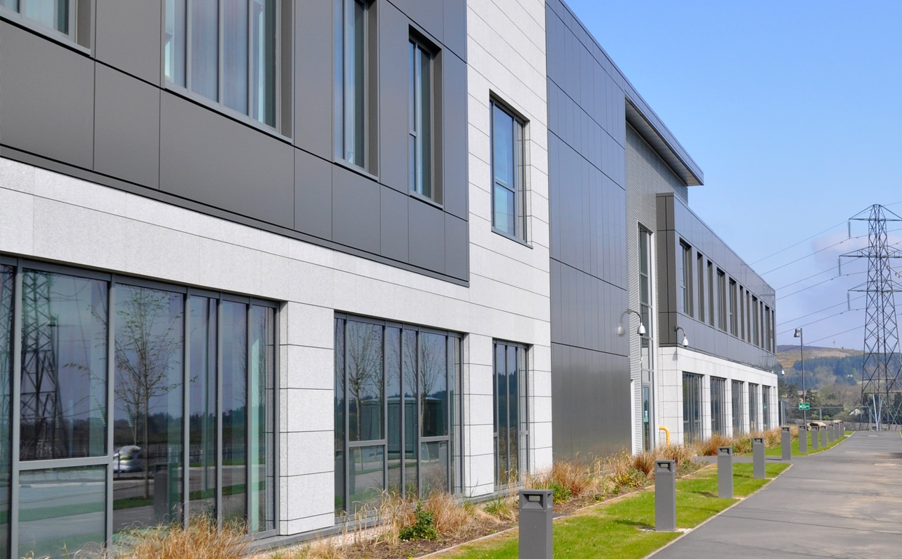 One Subsea Optima FC Rainscreen Cladding - Offices