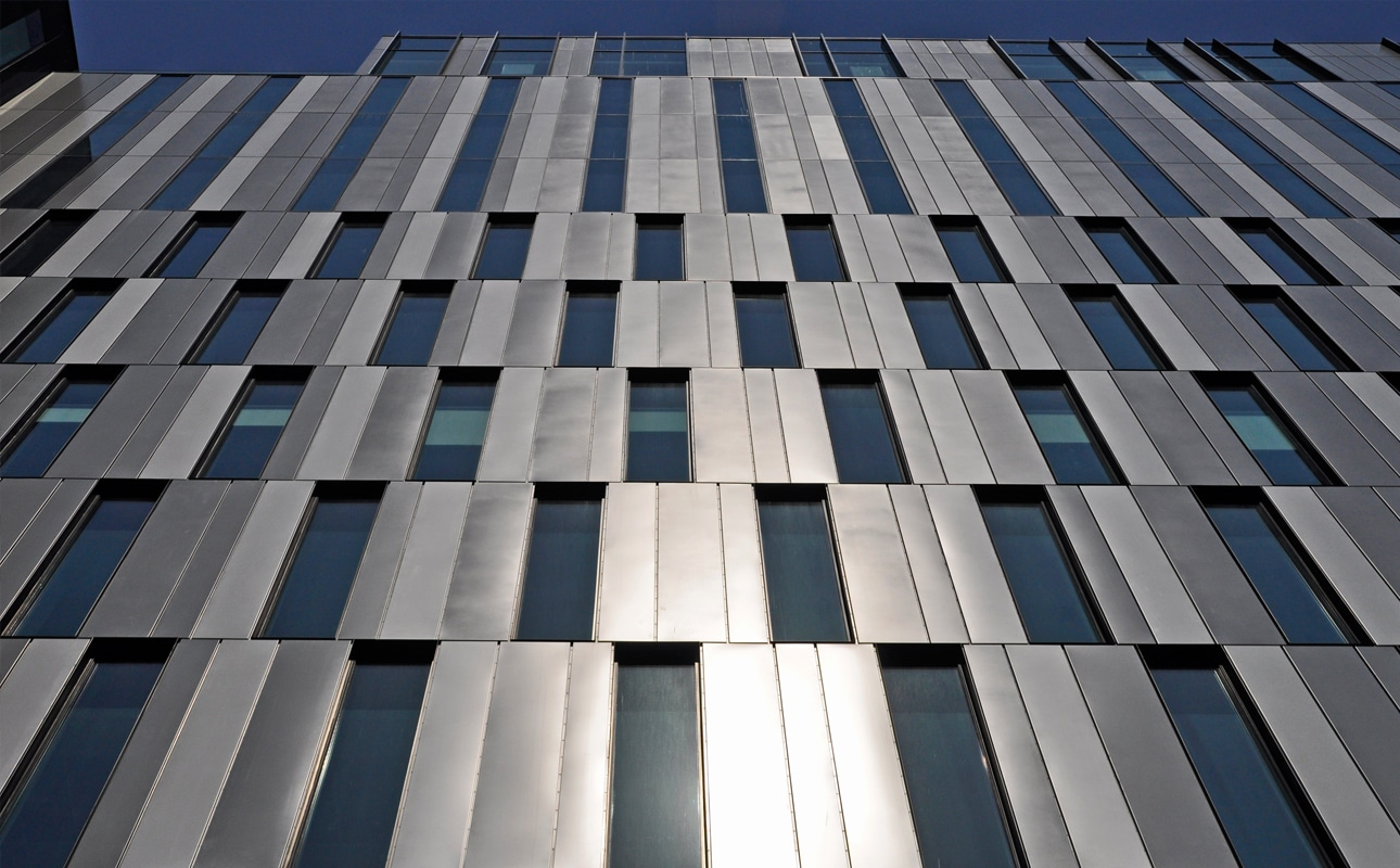 St Vincent Plaza - Optima TFC Rainscreen Cladding, finished in PPC