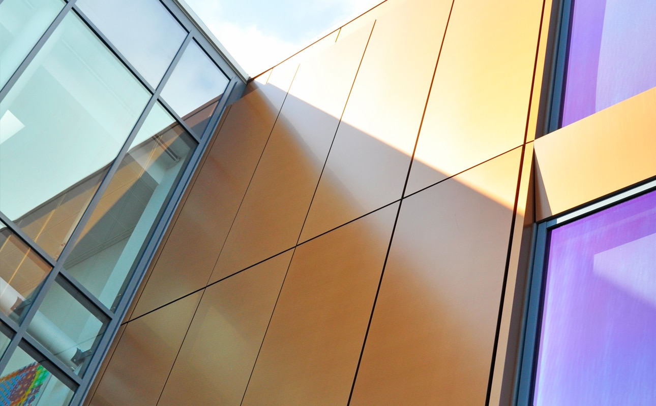 Statoil in Alucobond Rainscreen Cladding - Natural Copper 412