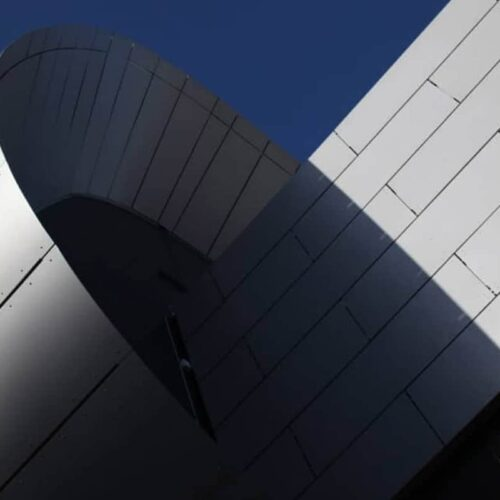 ACM Rainscreen Cladding Material Glow Bluewater Shopping Centre