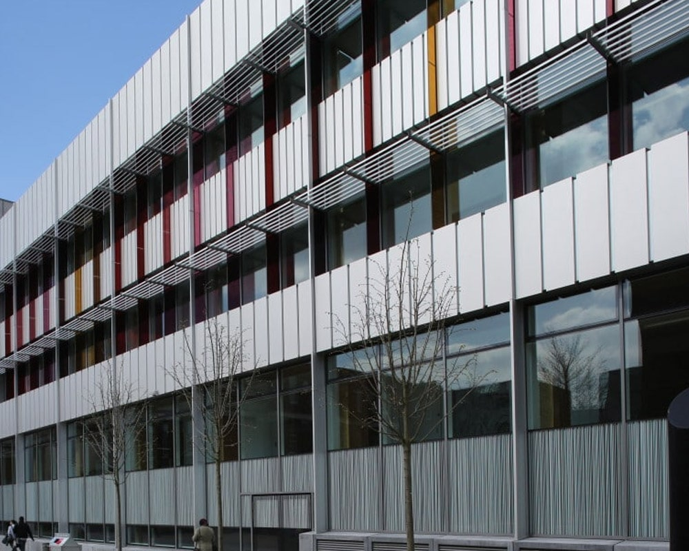 Manchester University Rainscreen Cladding