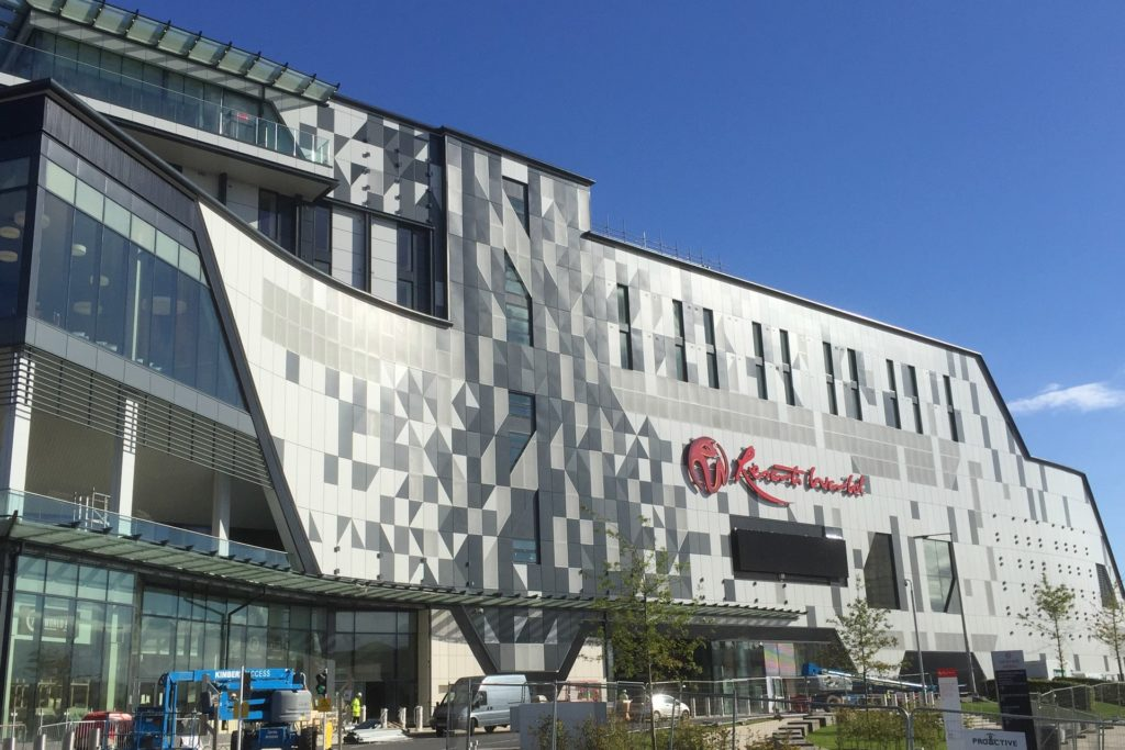 NEC Resorts Development - Optima TFC Rainscreen Cladding