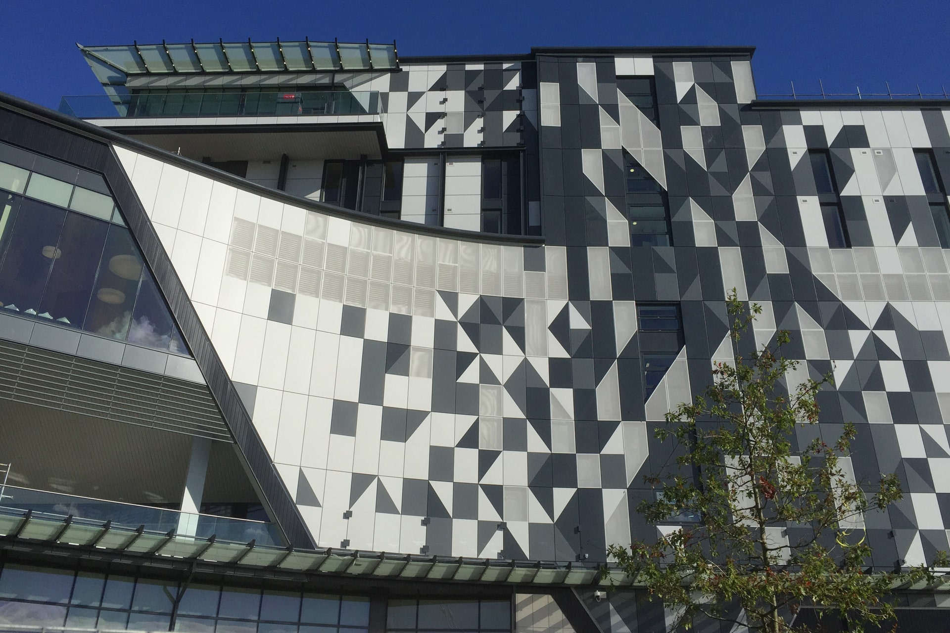 NEC Resorts Development - Optima Through Fix Cassette Rainscreen Cladding