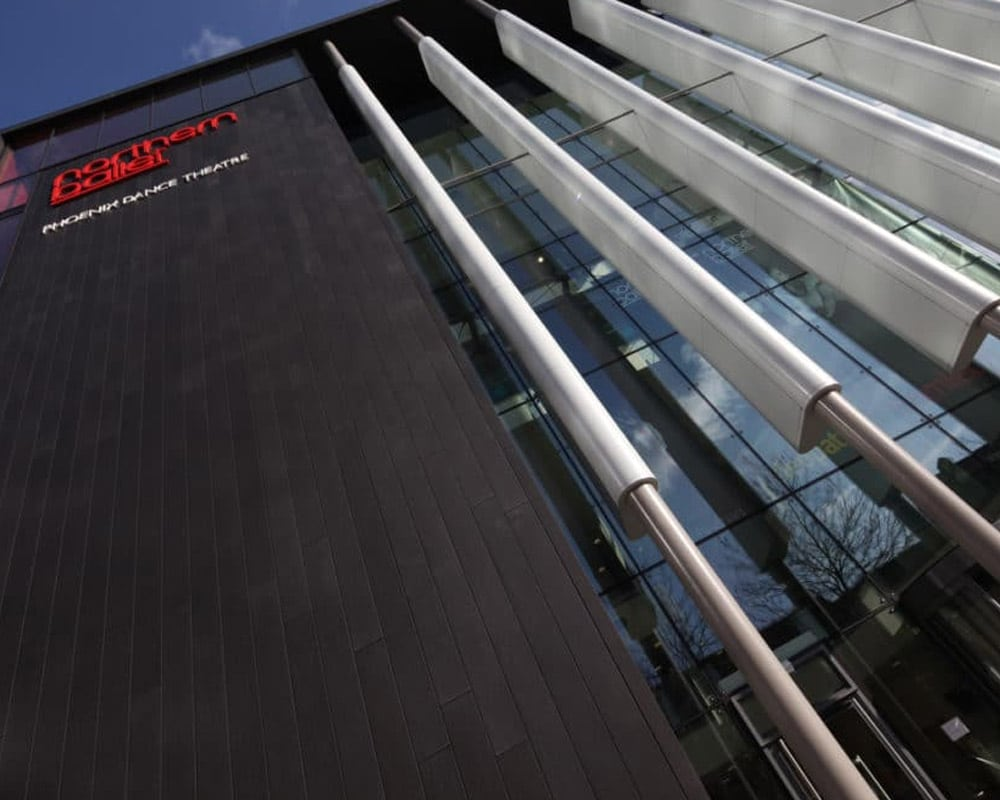 Northern Ballet & Phoenix Dance Theatre | Zinc Rainscreen Cladding