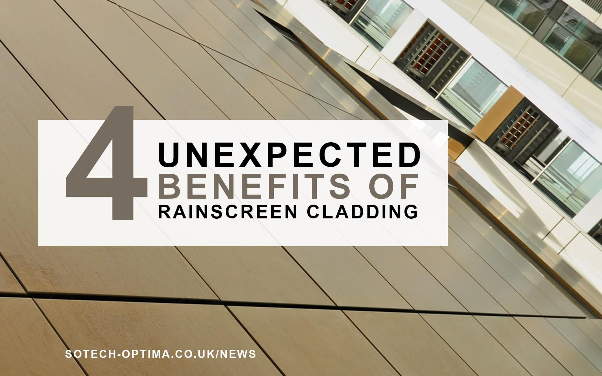 benefits of rainscreen cladding in 2018