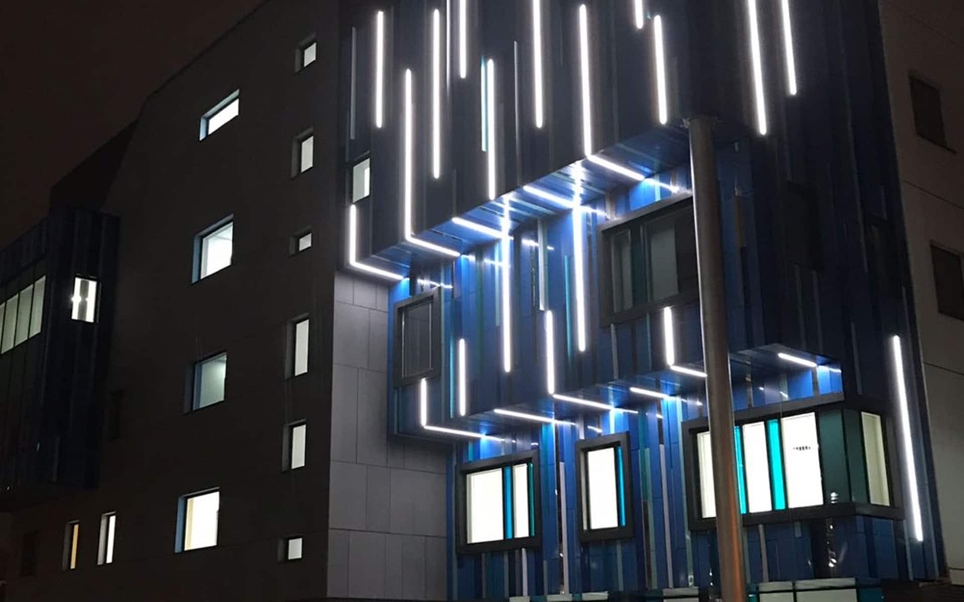 Birmingham Childrens Hospital Bright Polished Stainless Steel