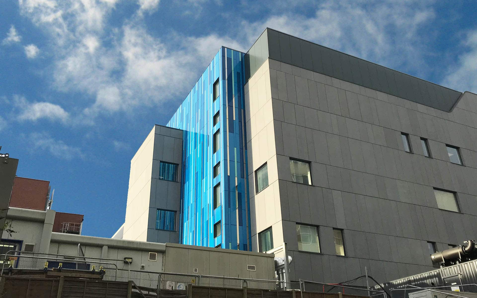 Birmingham Childrens Hospital IPC Rainscreen Cladding Sotech