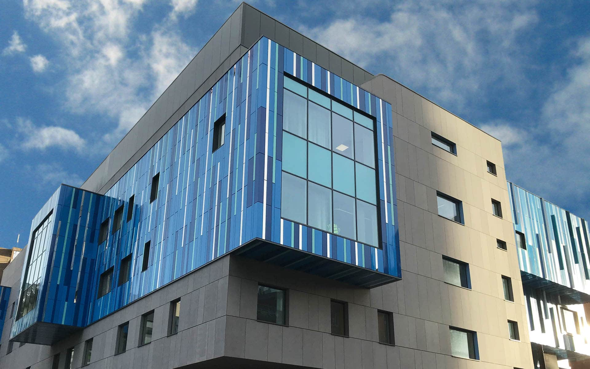 Birmingham Childrens Hospital Rainscreen Cladding Sotech
