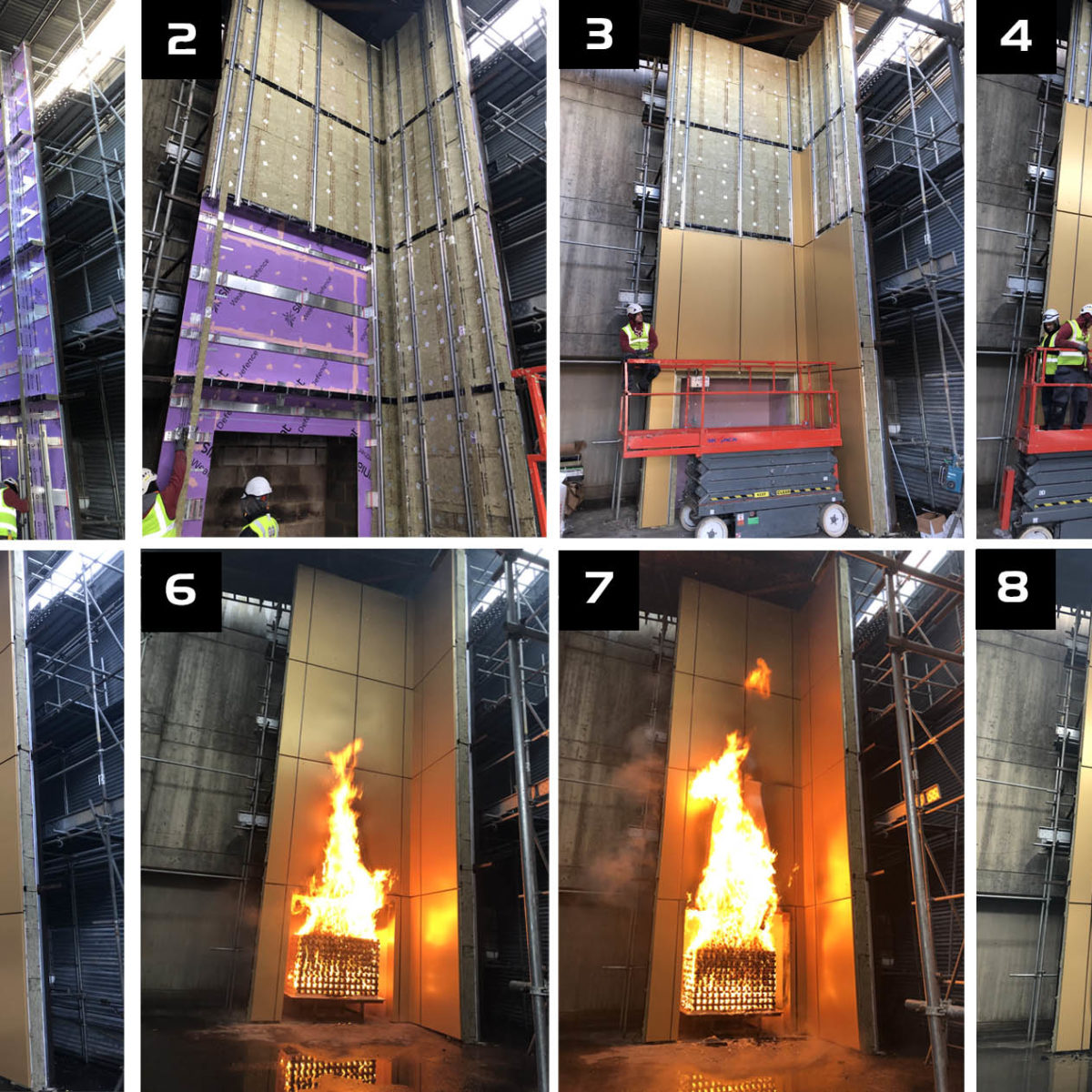 Testing in the rainscreen cladding industry
