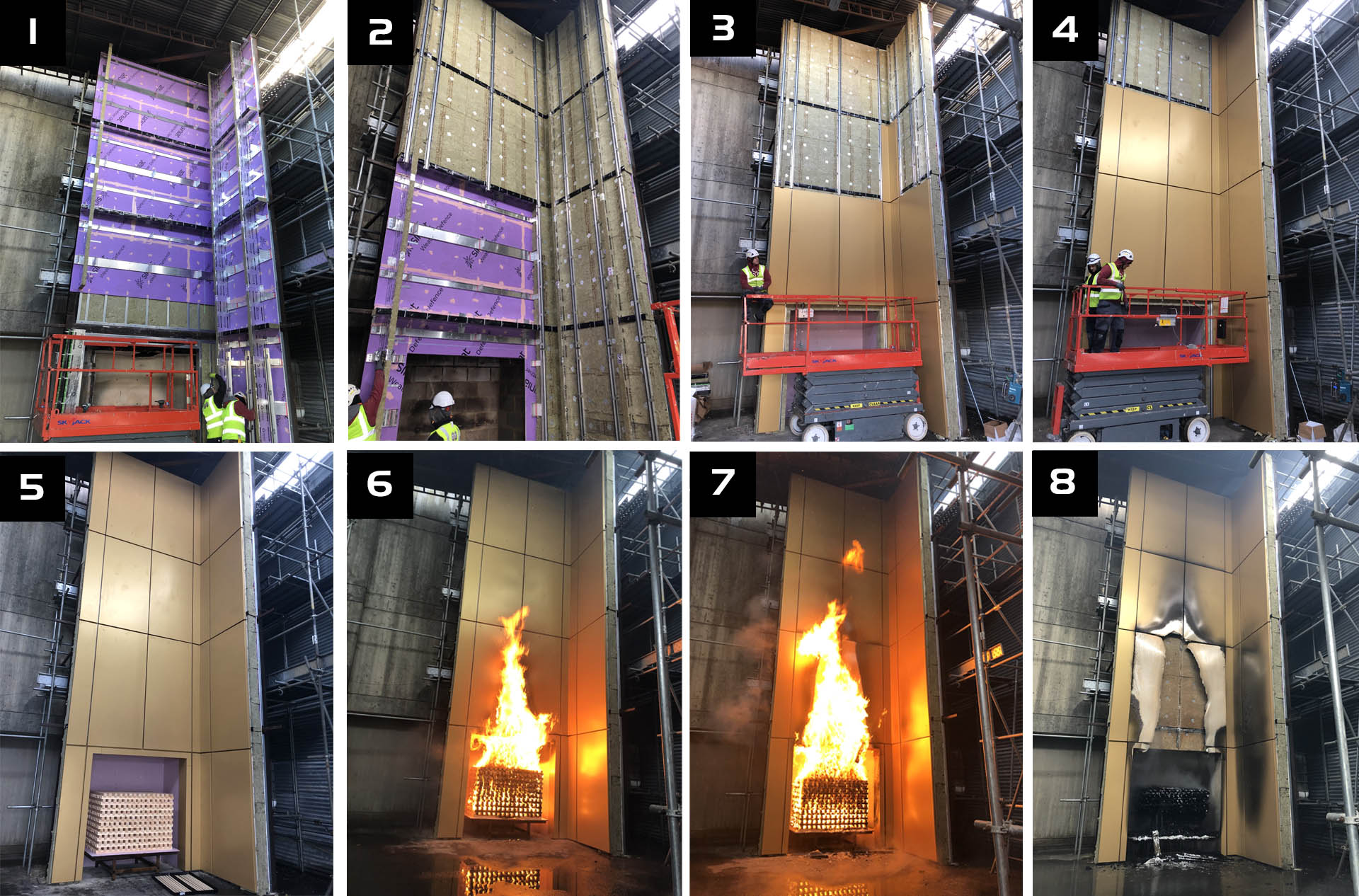 Secret Fix Rainscreen Fire Tested