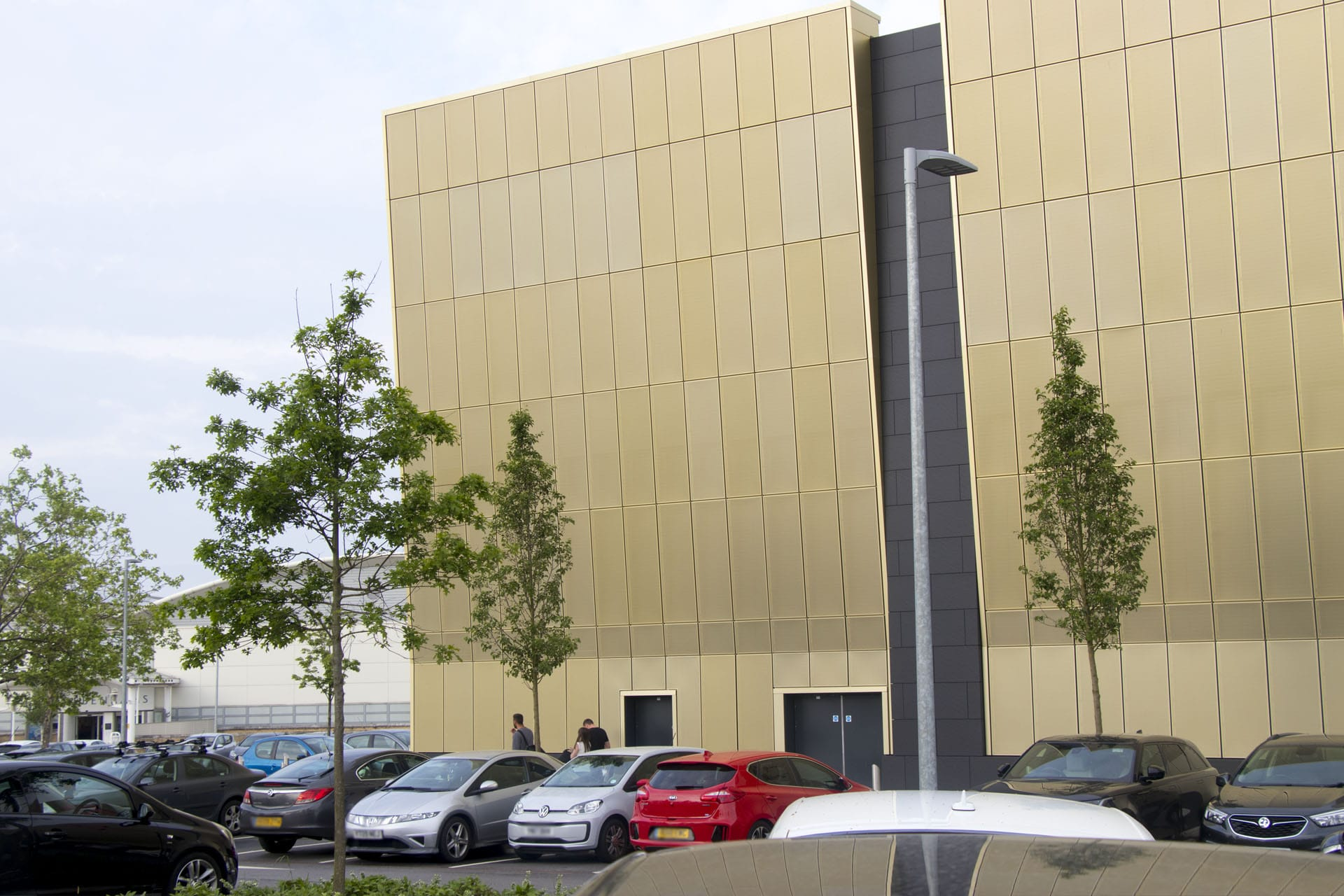 White Rose Shopping Centre Leeds - Regency Gold Rainscreen Cladding