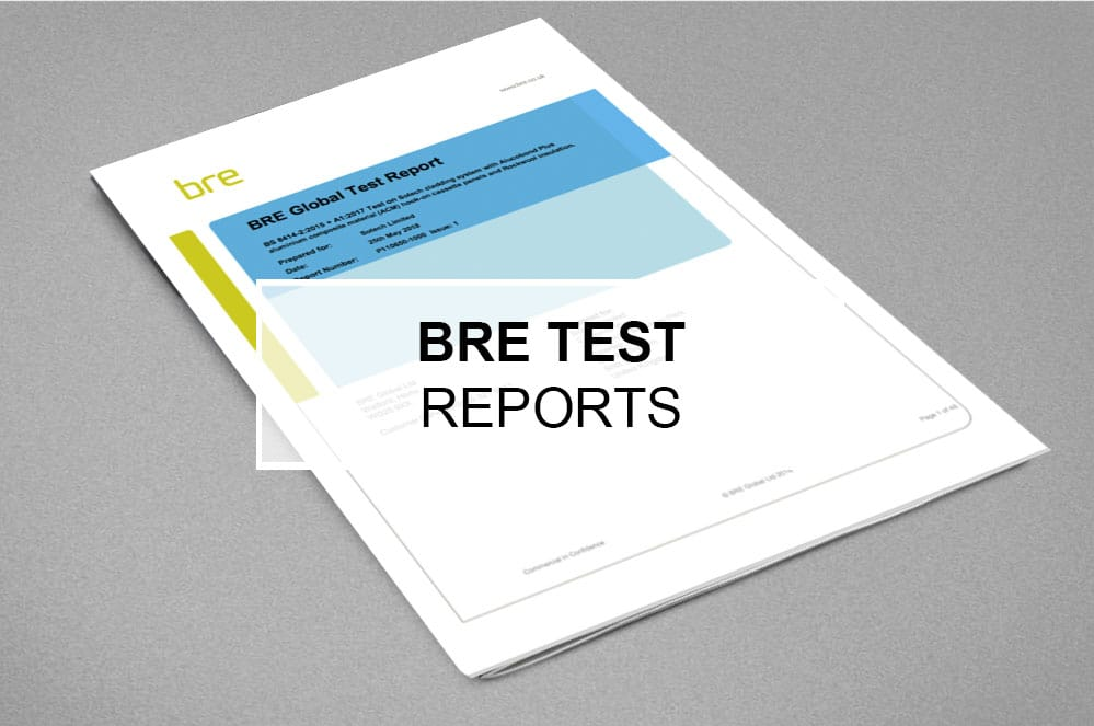 Fire testing BRE Reports