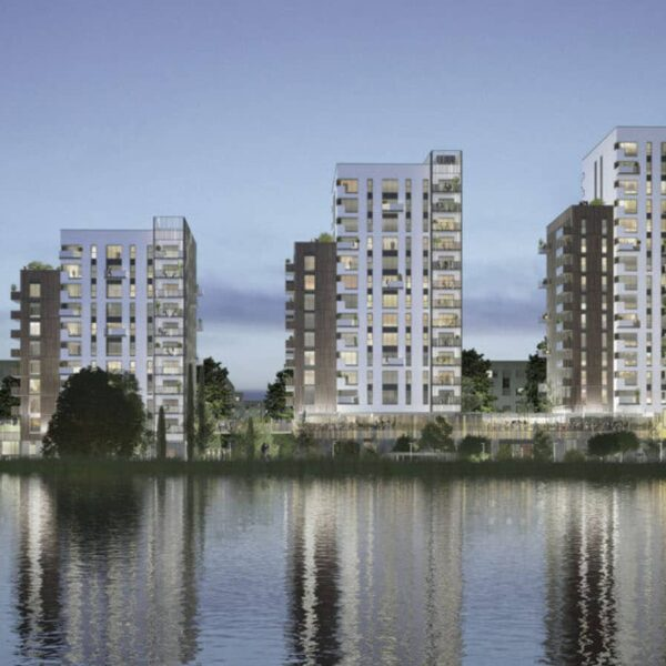 Rainscreen Cladding Passes Project Specific CWCT Testing for Ferry Lane Development, Walthamstow