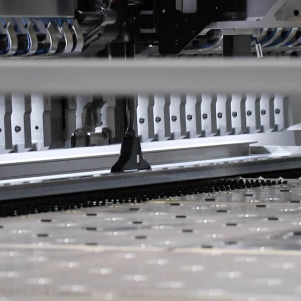 Sotech's brand new Salvagnini Panel Bending Machine in action