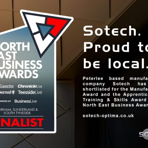 Sotech shortlisted for North East Business Awards