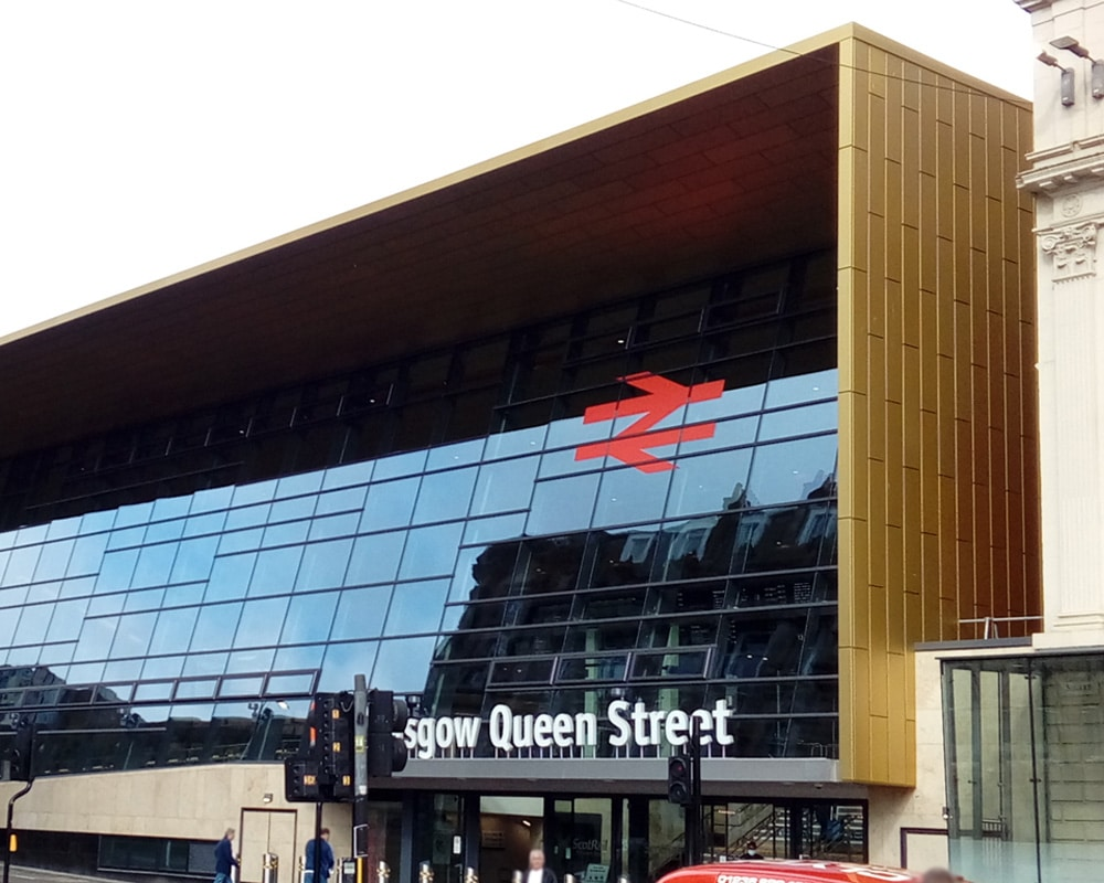 Queen Street Station Glasgow Optima Rainscreen Cladding Optima