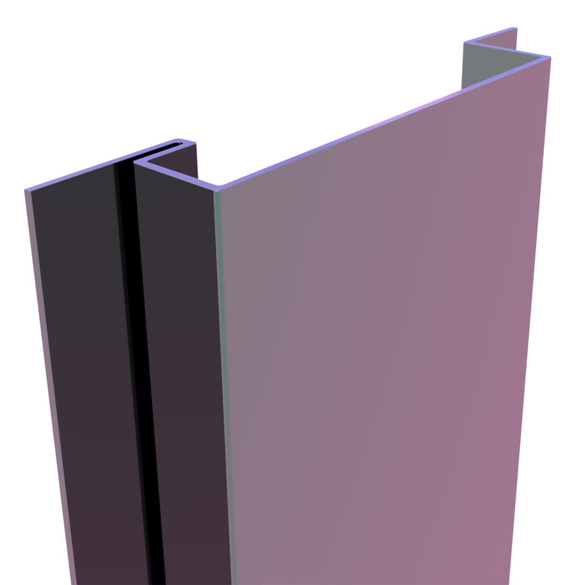 3D Substructure of our IPC Rainscreen Cladding System