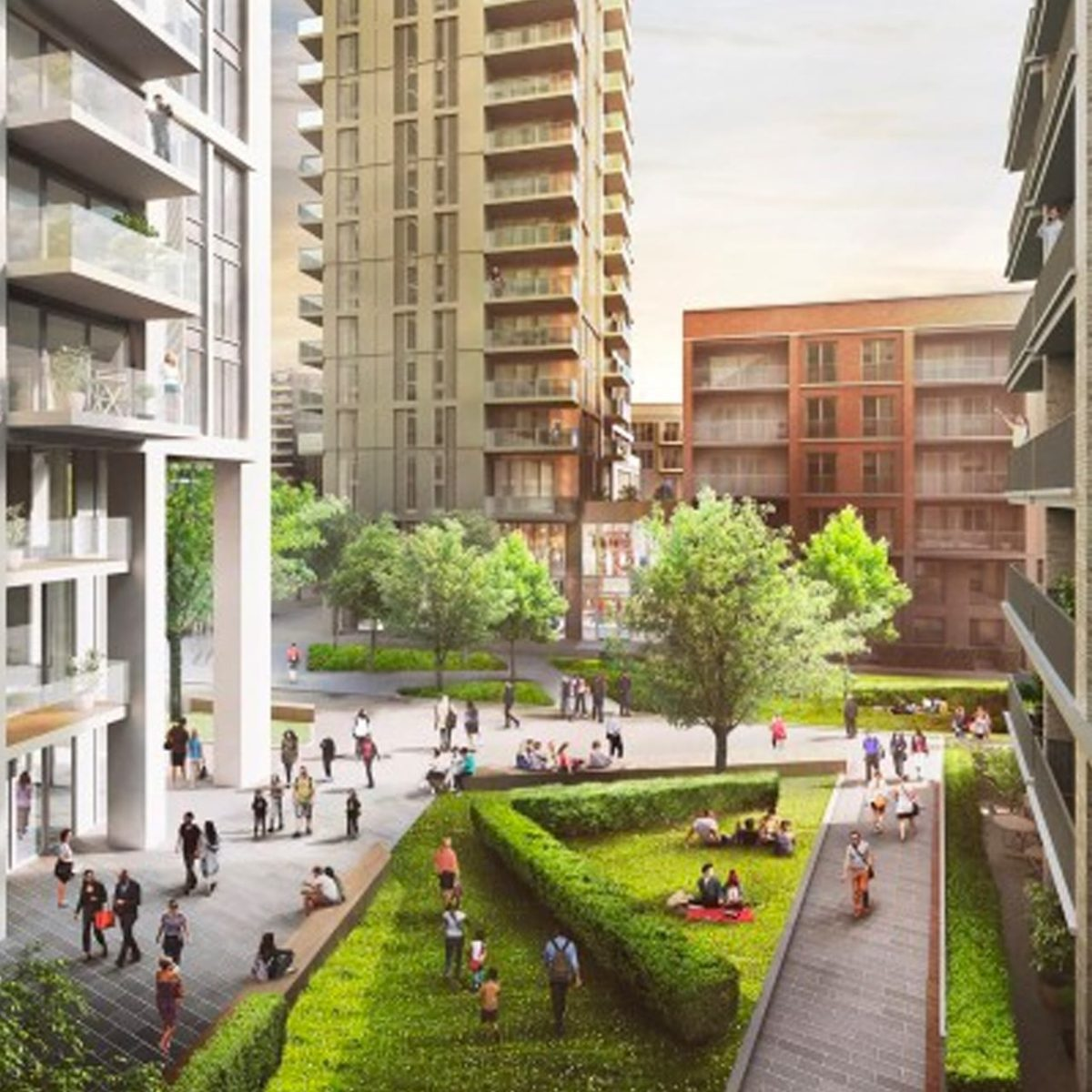 Whitechapel regeneration – a competitive destination for shopping, culture and education in the capital.